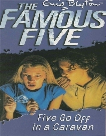 Enid Blyton - Five Go Off in a Caravan  (Famous Five)