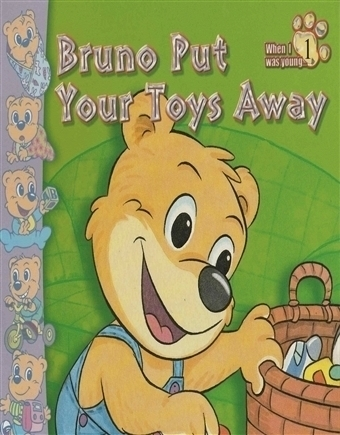 Bruno Put your Toys Away